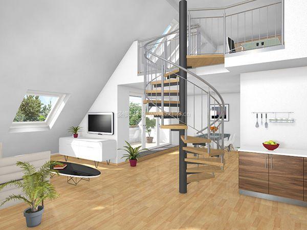 复式楼楼梯装修设计技巧