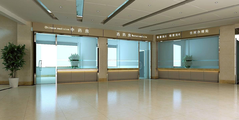 医院大厅装修吊顶装饰效果图片