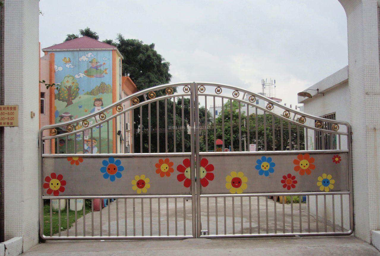 幼儿园装修设计/多功能课室设计/大厅设计/大门装修