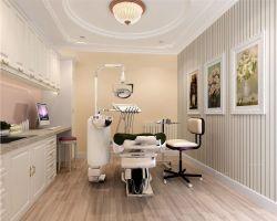 口腔医院装修效果图室内设计现代简约风格_装平面设计怎么放大图图片