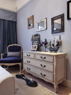 简约地中海风格 装饰柜装修效果图片