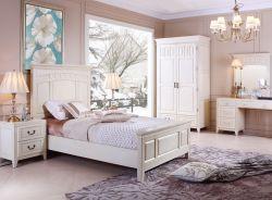 新古典臥室風格床頭裝飾畫裝修效果圖片