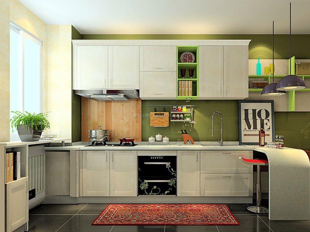 橱柜展厅橱柜门设计效果图图片