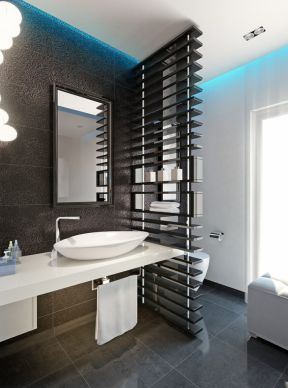 14平米卫生间装潢图 卫生间隔断装饰