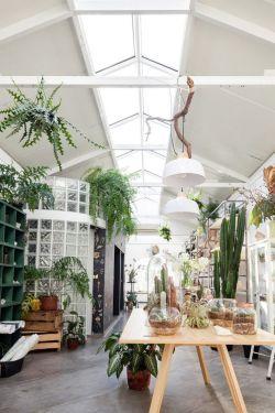 花店室内北欧风格装修设计效果图