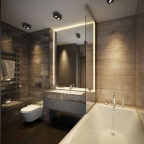 宾馆卫浴装修效果图 现代简约