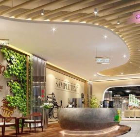 時尚商場咖啡廳裝修效果圖片-每日推薦