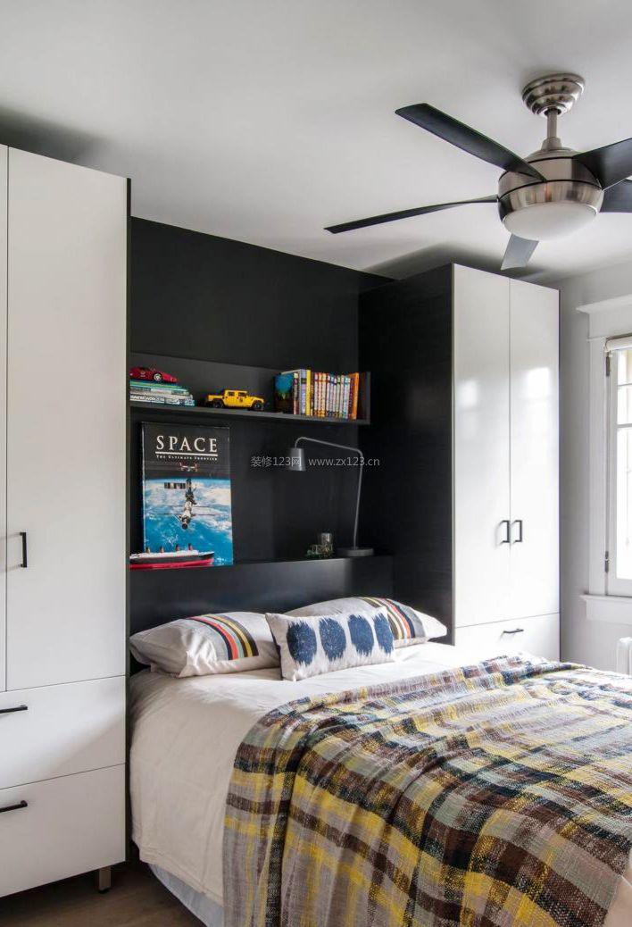 2017欧式室内设计小卧室家具摆设效果图