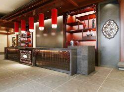中式火锅店收银台装修效果图片图片
