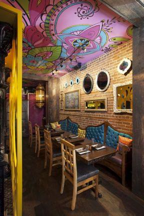 2017餐馆小吧台装修效果图