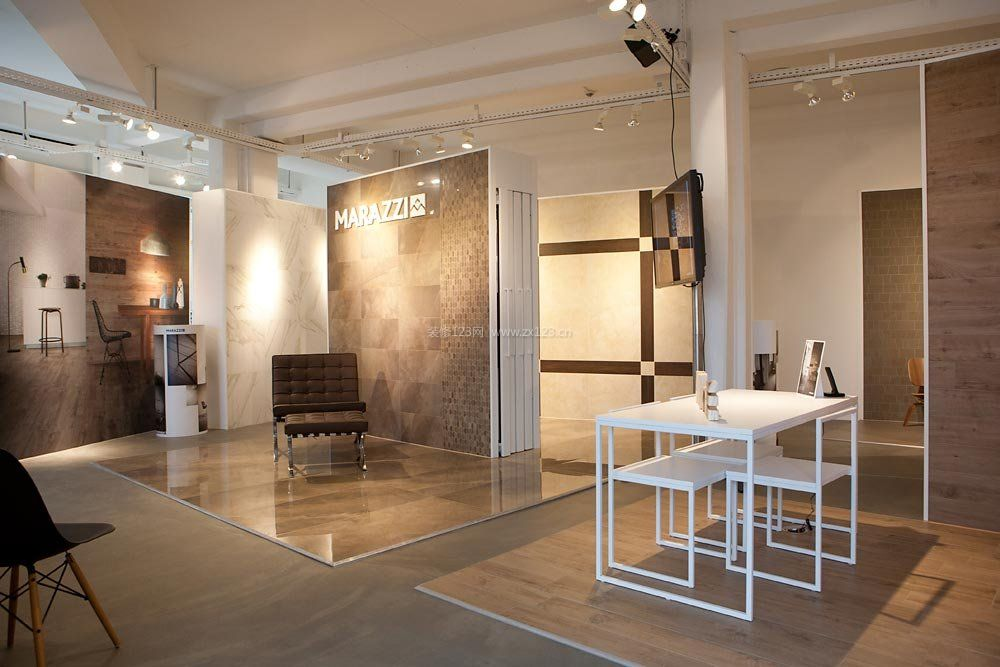 国外瓷砖店门面室内装修效果图大全