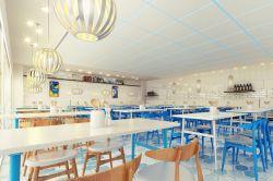 最新早餐店室内装修效果图图片