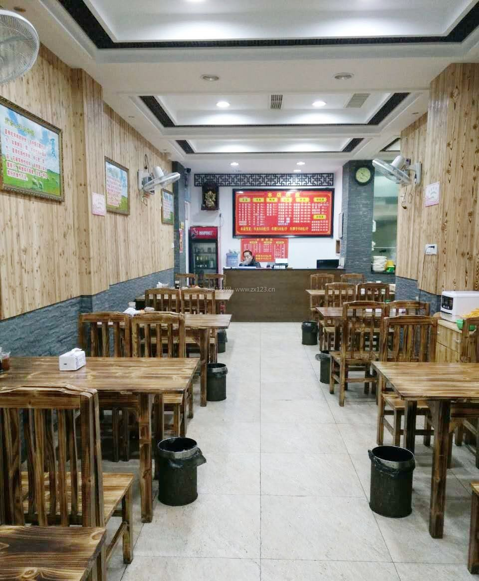 小餐馆店面装修设计效果图