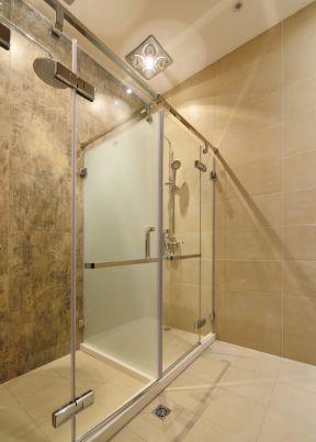 会所门面装修效果图 玻璃淋浴间装修效果图