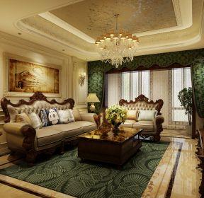 歐式古典風格客廳古典家具裝修圖片-每日推薦