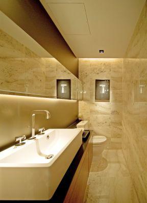 小居室卫生间 石膏板吊顶装修效果图片