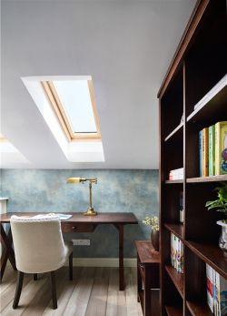 顶楼阁楼书房天窗装修效果图片