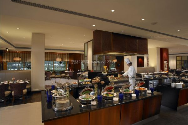 饭店后厨装修设计效果图