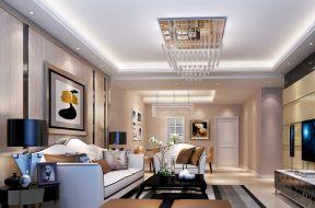 现代布艺沙发 现代欧式风格装修效果图片