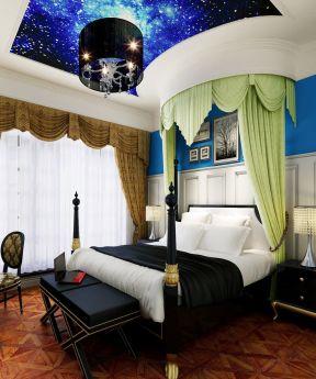 2017纯美北欧风格时尚卧室床头台灯效果图图片