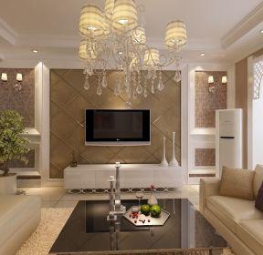 現代簡約客廳電視墻電視柜-每日推薦