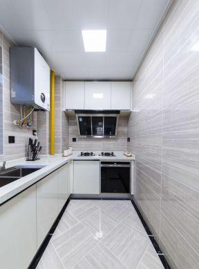 精装小户型设计厨房墙砖装修效果图片