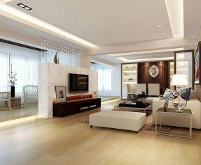 現代簡約客廳電視背景墻 大理石電視背景墻