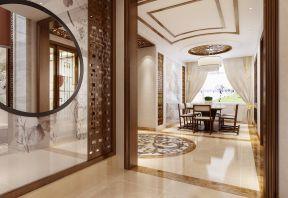 中式餐桌 中式風格房子裝修效果圖