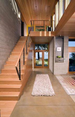 阁楼楼梯装修设计-装修123网效果图大全