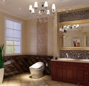 2020欧式浴室柜装修效果图