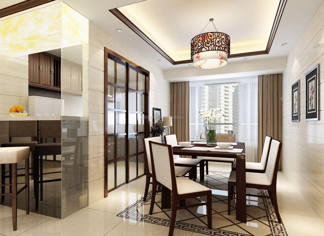 家装效果图中式2017现代中式风格厨房门隔断装修效果图提供者