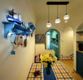 地中海室内装修 墙面装饰装修效果图片