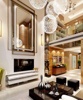 2017传统中式风格卧室客厅装修效果图