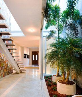 現代簡約風格樓梯 躍層房子裝修設計圖片大全