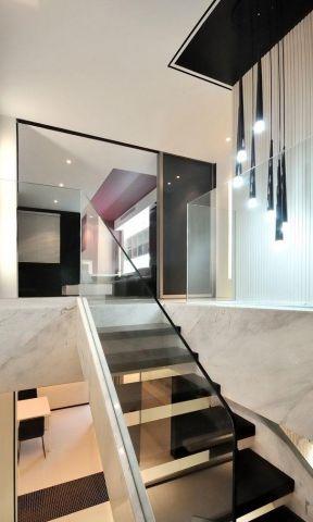 室内楼梯扶手装修图片