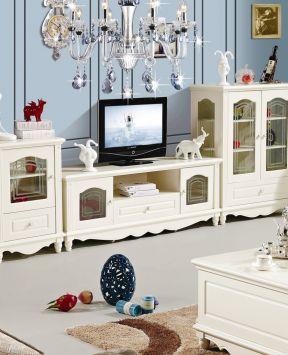 欧式组合电视柜 欧式家装设计效果图