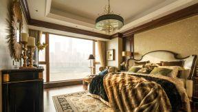 歐式大臥室 窗戶設計效果圖