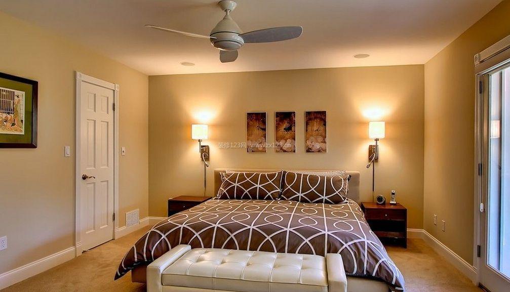 楼房卧室装修效果图
