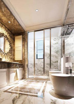 最新欧式室内装修卫生间地面瓷砖贴图