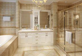 卫生间地面瓷砖贴 家装别墅装修图片
