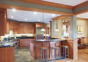2017农村自建别墅设计新式厨房效果图片图片
