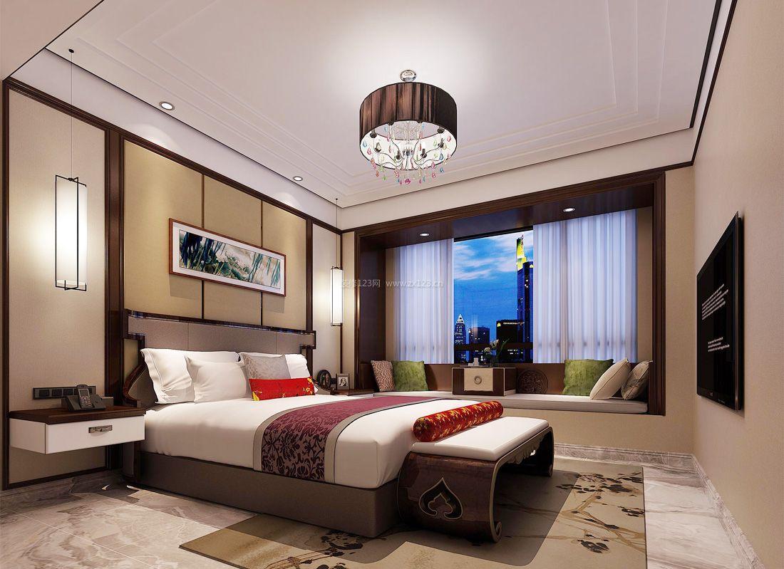 100平米简约风格一室一厅装修效果图片