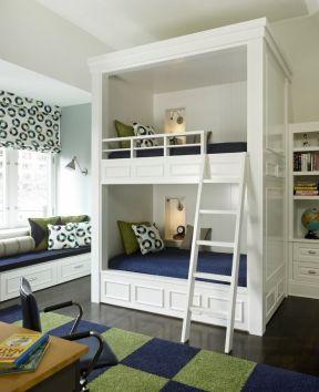 房屋高低床卧室装修设计效果图