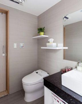 长方形卫生间 小户型室内装修效果图片