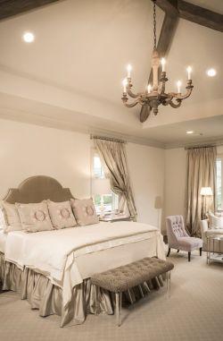 美式家装小房间卧室布置装修效果图片图片