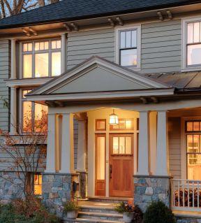 美式别墅教程世界石英小型我外观别墅的风格图片