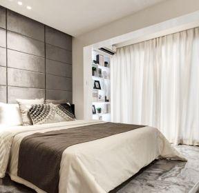 带阳台小房间卧室布置装修效果图-每日推荐