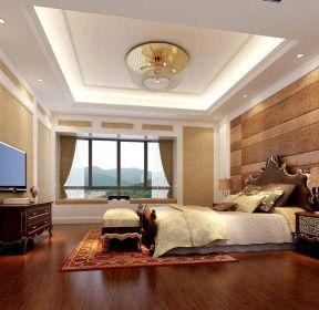 家居臥室裝潢大臥室背景墻-每日推薦