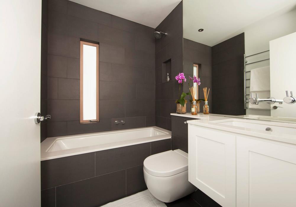 一室一厅小户型卫生间浴室装修图片大全