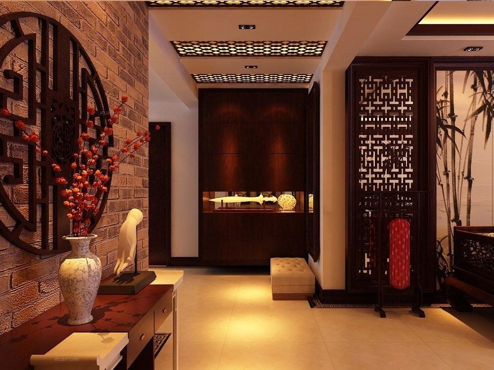 现代新中式别墅室内家具元素搭配